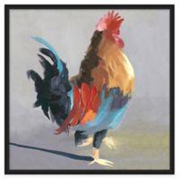 Framed Giclée Rooster 1 Wall Art