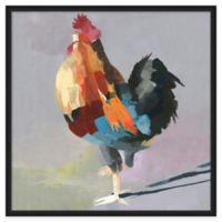 Framed Giclée Rooster 2 Wall Art