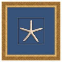 Framed Starfish Shadow Box Wall Art
