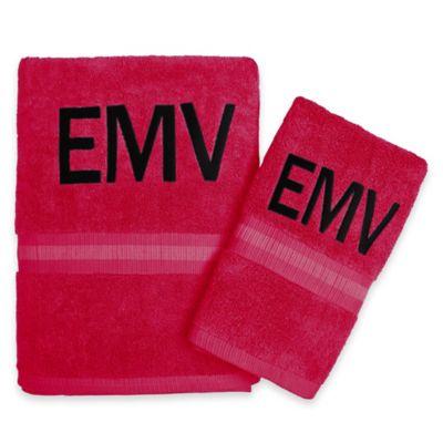 Southern Tide® Skipjack Hand Towel in Red