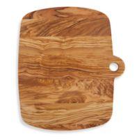 Olive Wood 14-Inch x 12-Inch Oblong Cutting Board