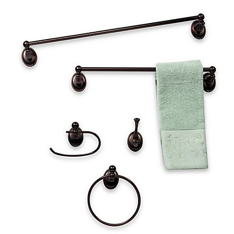 Baldwin Champlain Venetian Towel Ring in Bronze