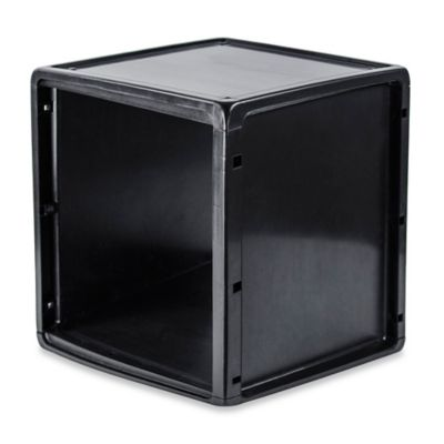 Captivating B+in® Plastic Storage Cube In Black
