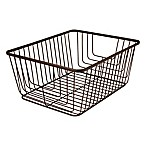 Spectrum® Ashley Large Storage  Basket in Bronze