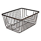 Spectrum® Ashley Medium Storage Basket in Bronze