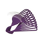 Joy Mangano Huggable Hangers® 10-Pack Suit Hangers in Purple