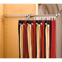 Rev-A-Shelf® 13-Hook Tie and Scarf Rack in Chrome