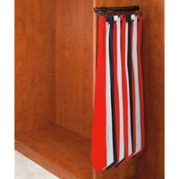 Rev-A-Shelf® 15-Hook Tie and Scarf Rack in Oil-Rubbed Bronze
