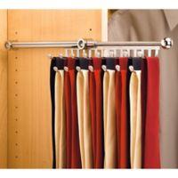 Rev-A-Shelf® 15-Hook Tie and Scarf Rack in Chrome