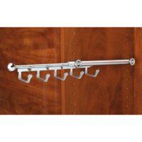 Rev-A-Shelf® 5-Hook Belt and Scarf Organizer in Chrome