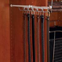 Rev-A-Shelf® 6-Hook Belt and Scarf Organizer in Chrome