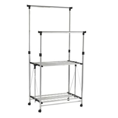 Buy Honey Can Do 174 Garment Rack In Chrome From Bed Bath