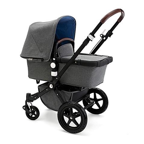 Bugaboo cameleon3 blend complete stroller in grey blue for Bugaboo buffalo precio