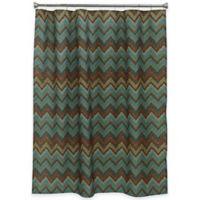 Bacova Sierra Zig Zag 70-Inch x 72-Inch Shower Curtain
