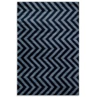 Rugs America Hudson Linen 2-Foot x 2-Foot 11-Inch Accent Rug in Blue