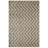 Rugs America Hudson Linen 2-Foot x 2-Foot 11-Inch Accent Rug in Slate
