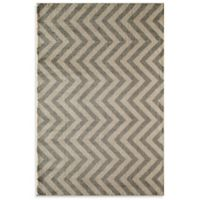 Rugs America Hudson Linen 5-Foot 3-Inch x 7-Foot 10-Inch Area Rug in Slate