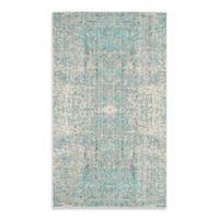 Safavieh Mystique 3-Foot x 5-Foot Area Rug in Teal/Multi