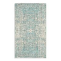 Safavieh Mystique 4-Foot x 6-Foot Area Rug in Teal/Multi