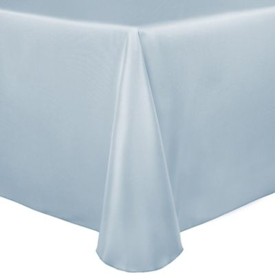 Duchess 90 Inch X 156 Inch Tablecloth In Ice Blue