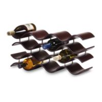 Oenophilia Bali Espresso 12-Bottle Wine Rack