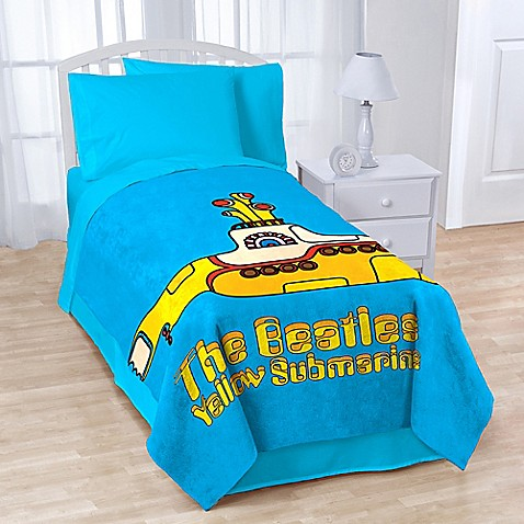 Buy Beatles Quot Yellow Submarine Quot Coral Fleece Throw Blanket