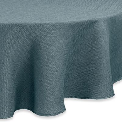 Good Noritake® Colorwave 60 Inch Round Tablecloth In Turquoise