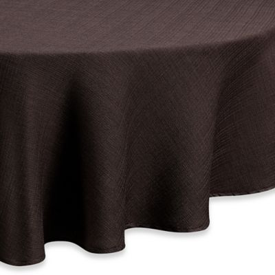 Noritake® Colorwave 70 Inch Round Tablecloth In Chocolate