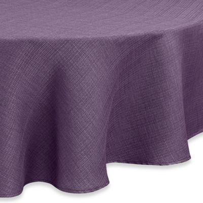 Beau Noritake® Colorwave 60 Inch Round Tablecloth In Plum