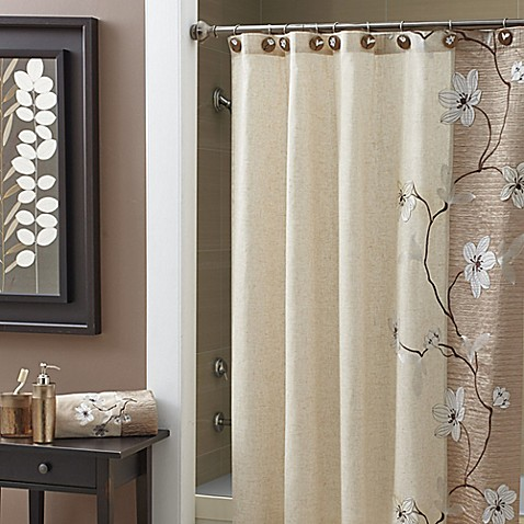 buy croscill 174 magnolia 84 inch x 72 inch extra long shower buy extra long curtain size from bed bath amp beyond