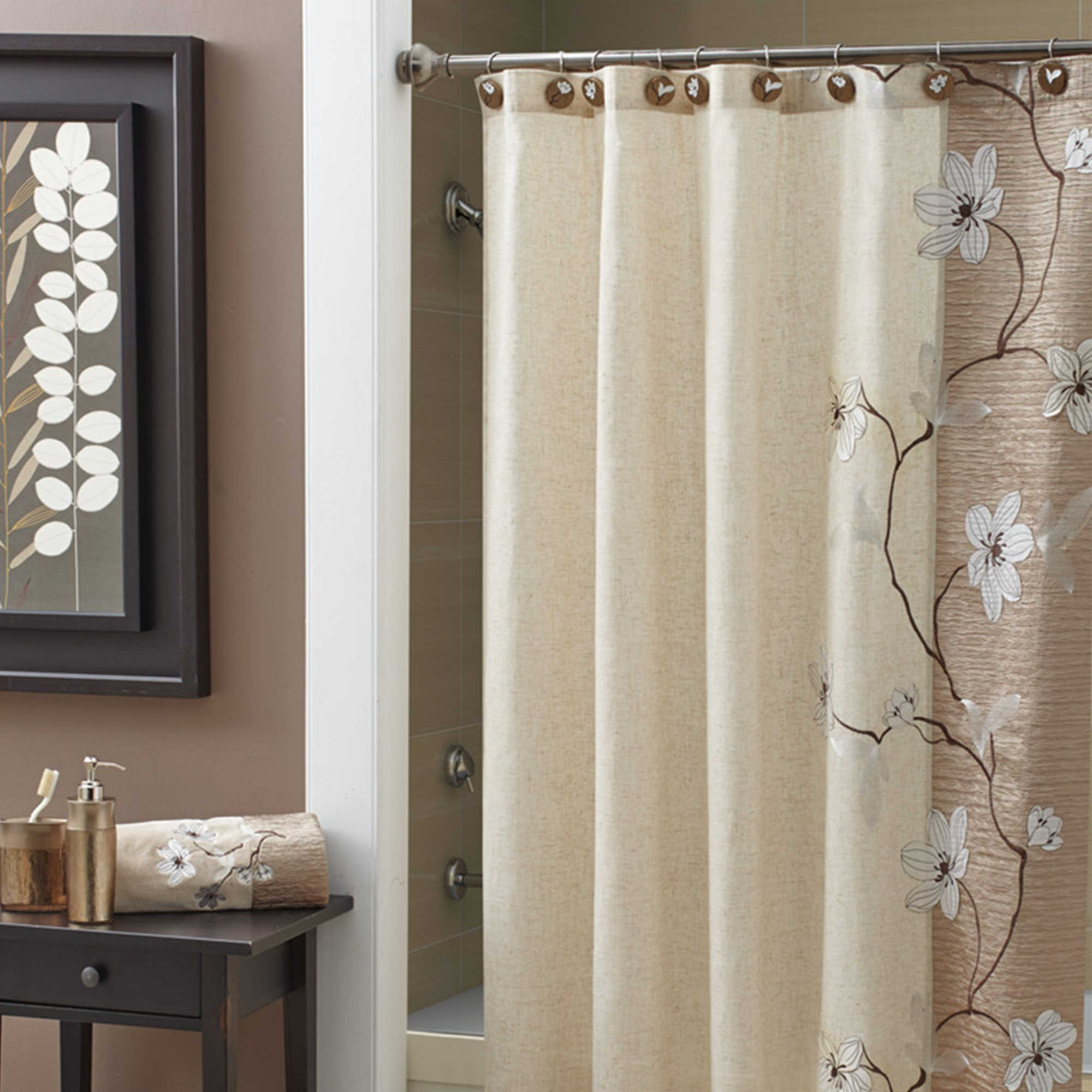 Croscill® Magnolia 70-Inch x 72-Inch Stall Shower Curtain - Bed ...