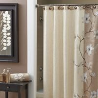 Croscill® Magnolia 84-Inch x 72-Inch Extra Long Shower Curtain