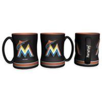 MLB Miami Marlins Sculpted Relief Mug