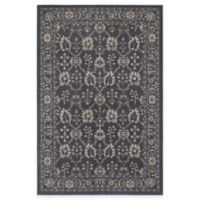 Oriental Weavers Richmond Blossom 3-Foot 10-Inch x 5-Foot 5-Inch Area Rug in Navy