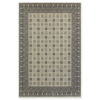 Oriental Weavers Richmond Border 1-Foot 10-Inch x 3-Foot Accent Rug in Ivory