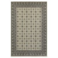 Oriental Weavers Richmond Border 5-Foot 3-Inch x 7-Foot 6-Inch Area Rug in Ivory