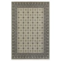 Oriental Weavers Richmond Border 6-Foot 7-Inch x 9-Foot 6-Inch Area Rug in Ivory