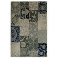 Oriental Weavers Richmond Patchwork 6-Foot 7-Inch x 9-Foot 6-Inch Area Rug in Ivory