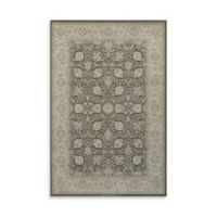 Oriental Weavers Richmond Traditional Medallion 6-Foot 7-Inch x 9-Foot 6-Inch Area Rug in Brown