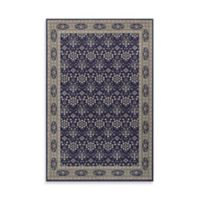 Oriental Weavers Richmond Vines 1-Foot 10-Inch x 3-Foot Accent Rug in Navy