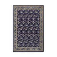 Oriental Weavers Richmond Vines 5-Foot 3-Inch x 7-Foot 6-Inch Area Rug in Navy