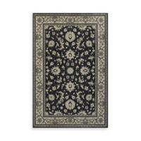 Oriental Weavers Richmond Limon 7-Foot 10-Inch Round Area Rug in Charcoal