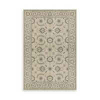 Oriental Weavers Richmond Floral Border 2-Foot 3-Inch x 7-Foot 6-Inch Runner in Ivory