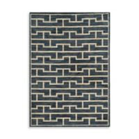 Oriental Weavers Harper Bricks 5-Foot 3-Inch x 7-Foot 6-Inch Area Rug in Blue