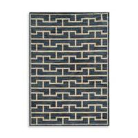 Oriental Weavers Harper Bricks 5-Foot 3-Inch x 7-Foot 6-Inch Area Rug in Blue