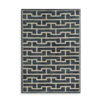Oriental Weavers Harper Bricks 7-Foot 10-Inch x 10-Foot 10-Inch Area Rug in Blue