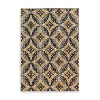 Oriental Weavers Harper Diamond 6-Foot 7-Inch x 9-Foot 6-Inch Area Rug in Charcoal