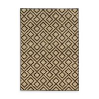 Oriental Weavers Harper Diamonds 5-Foot 3-Inch x 7-Foot 6-Inch Area Rug in Beige