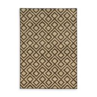 Oriental Weavers Harper Diamonds 9-Foot 10-Inch x 12-Foot 10-Inch Area Rug in Beige