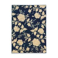 Oriental Weavers Harper Floral 5-Foot 3-Inch x 7-Foot 6-Inch Area Rug in Blue